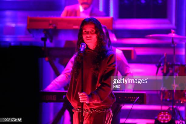 Musical Guest Pusha T feat 070 Shake performs 'Santeria' on July 19 2018
