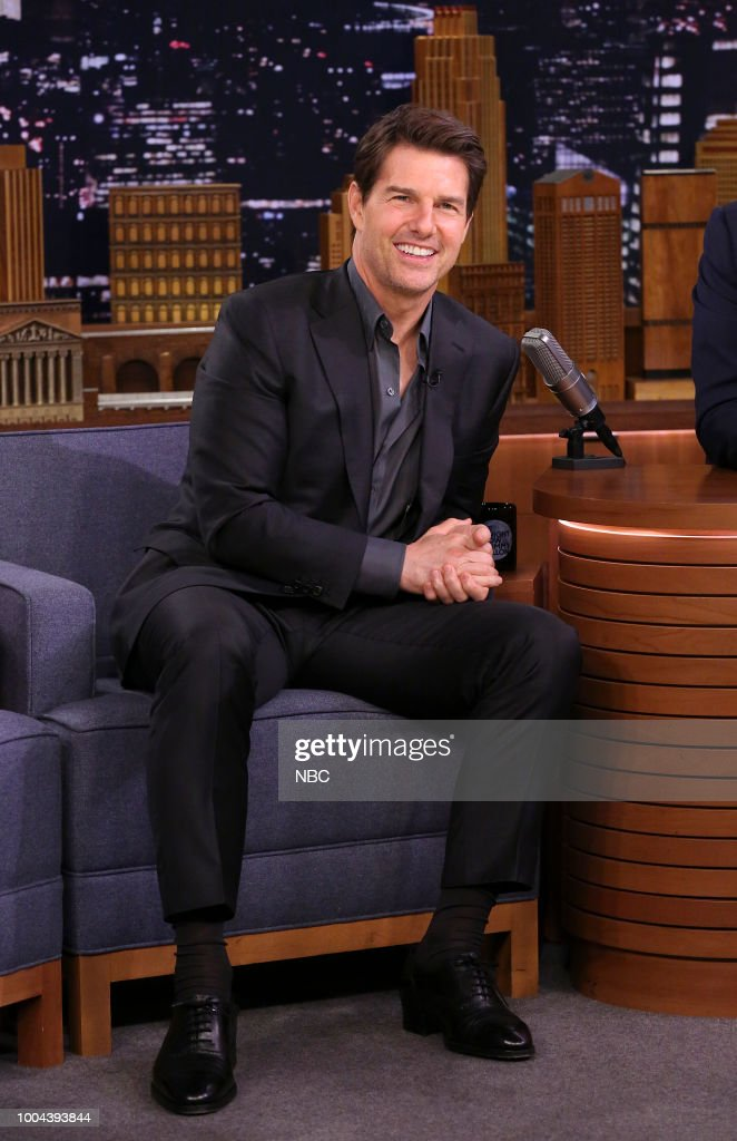 "NBC's ""Tonight Show Starring Jimmy Fallon"" with Guests Tom Cruise, Parker Posey, Jorja Smith"