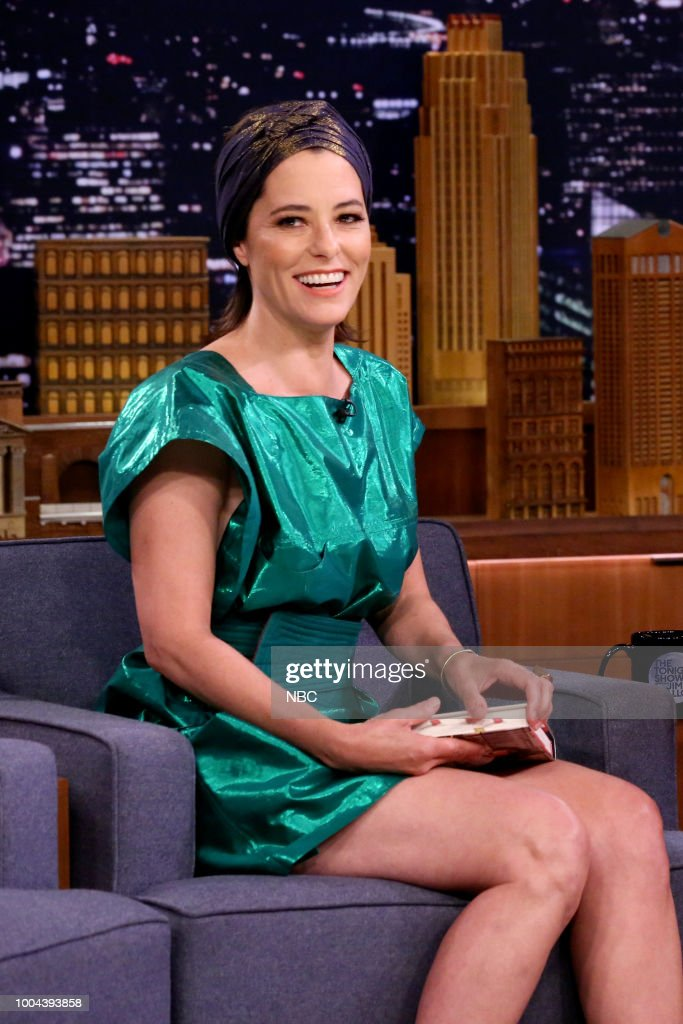 Actress/Author Parker Posey during an interview on July 23, 2018 --