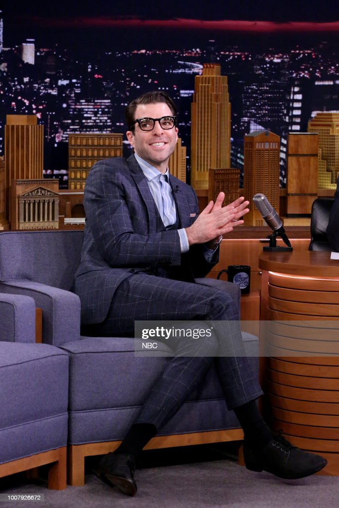 "NBC's ""Tonight Show Starring Jimmy Fallon"" with Guests Mila Kunis, Zachary Quinto, Taylor Bennett"