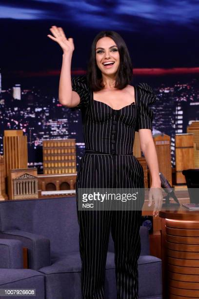 Actress Mila Kunis during an interview on July 30 2018