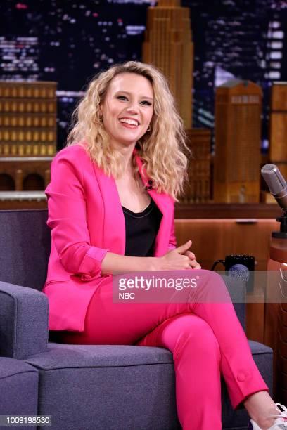 Comedian/Actress Kate McKinnon during an interview on August 1 2018