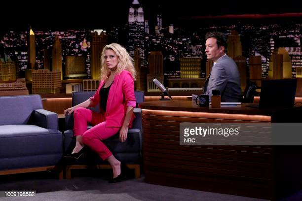 Host Jimmy Fallon dances with Musical Guest J Balvin Nicky Jam performing 'Mi Gente / X ' on August 1 2018