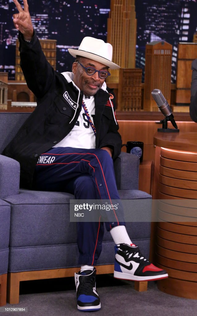 Director Spike Lee during an interview on August 7, 2018 --