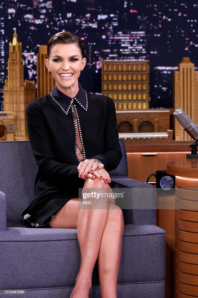 """NBC'S """"The Tonight Show Starring Jimmy Fallon"""" With Guests Ryan Seacrest, Ruby Rose, Rae Stremmurd"""