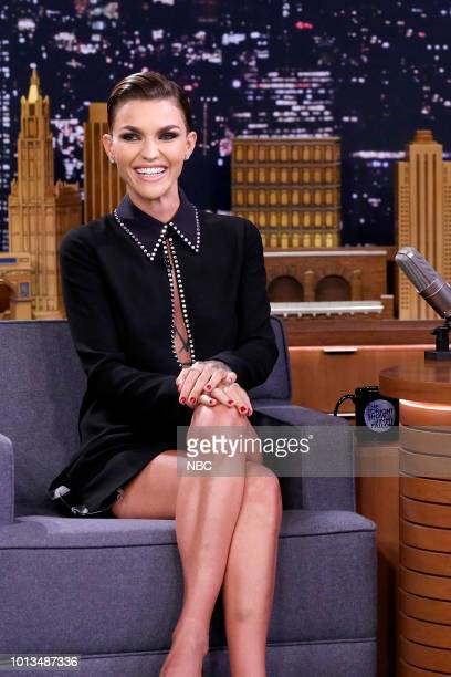 Actress Ruby Rose during an interview on August 8 2018
