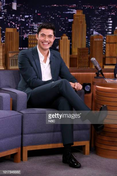 Actor Henry Golding during an interview on August 15 2018
