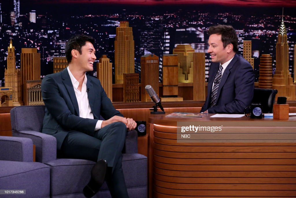 "NBC'S ""The Tonight Show Starring Jimmy Fallon"" With Guests Michael Che & Colin Jost, Henry Golding, Justin Thomas, Dusty Slay"