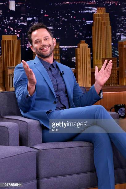 Comedian Nick Kroll during an interview on August 16 2018