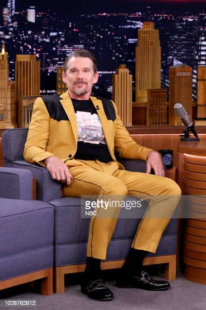 Actor Ethan Hawke during an interview on September 4 2018