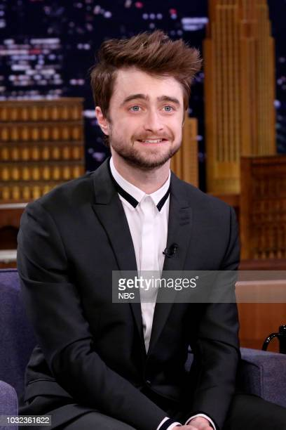 Actor Daniel Radcliffe during an interview on September 12 2018