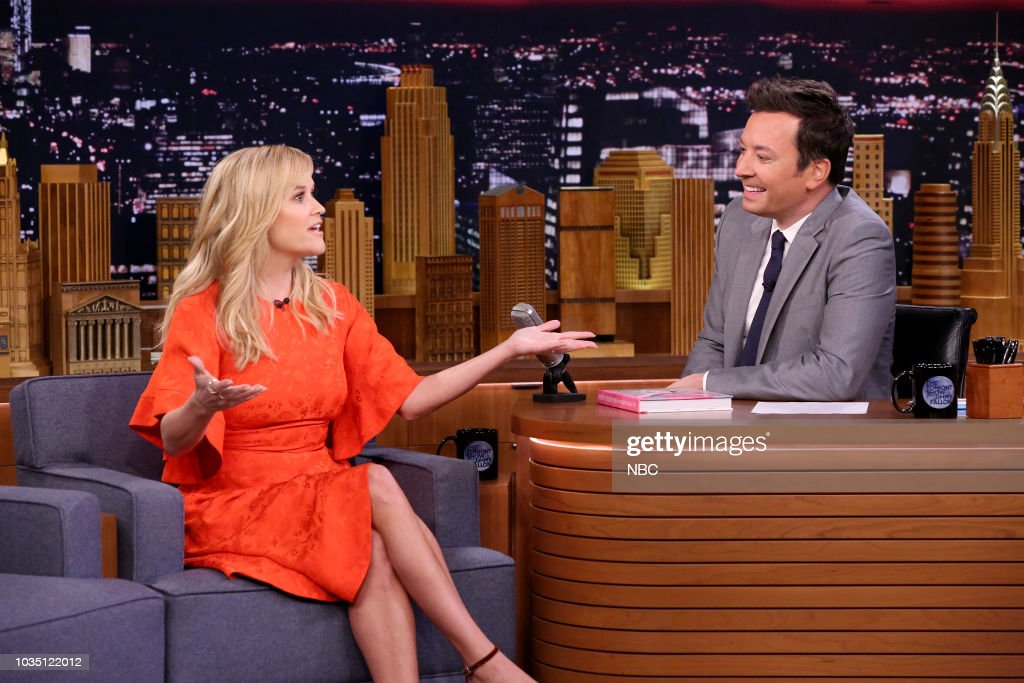 "NBC'S ""The Tonight Show Starring Jimmy Fallon"" With Guests Reese Witherspoon, Lenny Kravitz"
