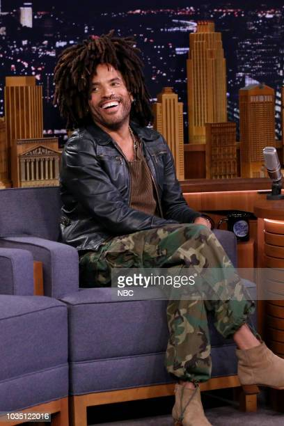 Episode 0925 -- Pictured: Musician Lenny Kravitz during an interview on September 17, 2018 --