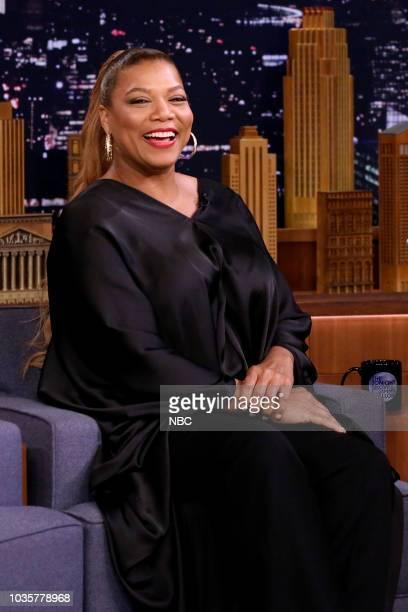 Queen Latifah during an interview on September 18 2018