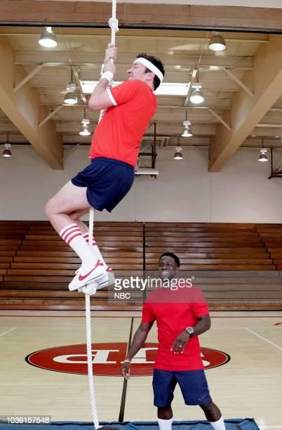 Jimmy Fallon Kevin Hart during 'Tonight School' on September 19 2018
