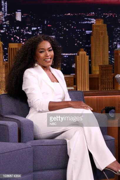 Actress Angela Bassett during an interview on September 20 2018