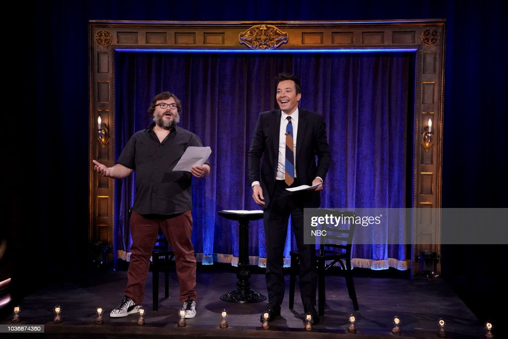 "NBC'S ""The Tonight Show Starring Jimmy Fallon"" With Guests Jack Black, Angela Bassett, Josh Groban"