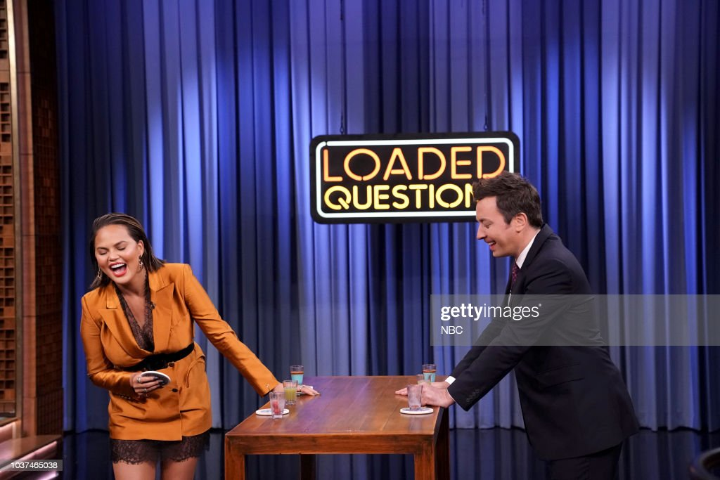 "NBC'S ""The Tonight Show Starring Jimmy Fallon"" With Guests Chrissy Teigen, Ryan Eggold, Dan White"