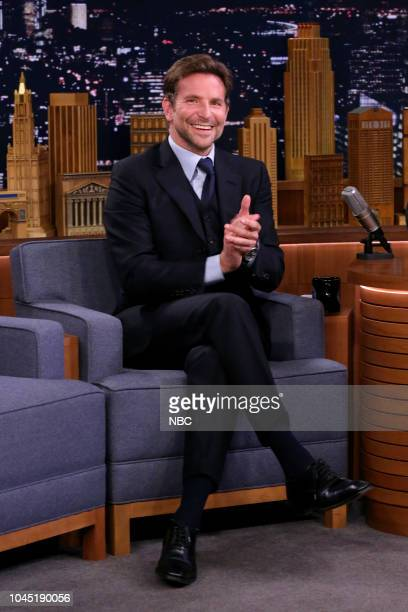 Episode 0937 -- Pictured: Actor Bradley Cooper during an interview on October 3, 2018 --
