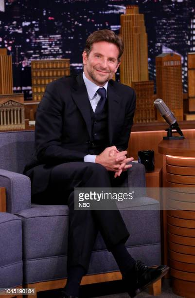 Actor Bradley Cooper during an interview on October 3 2018