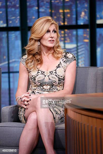 Actress Connie Britton during an interview on September 10 2014