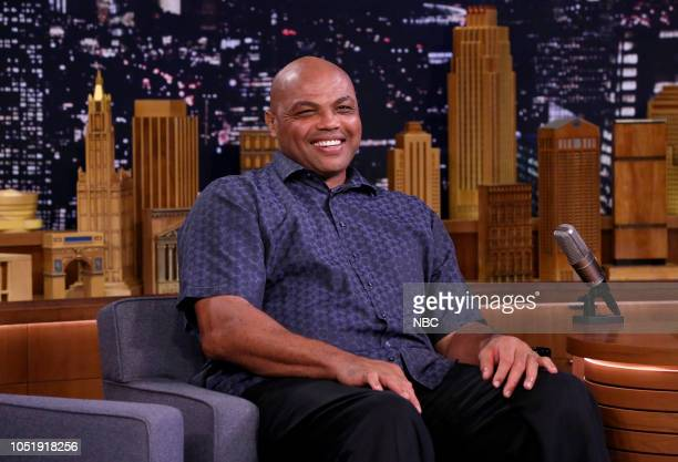 Charles Barkley during an interview on October 11 2018