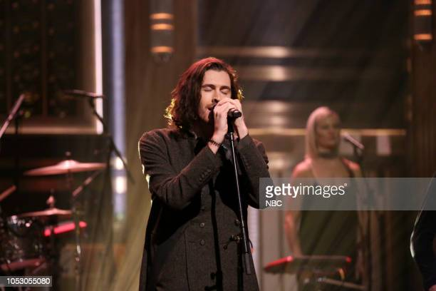 Musical Guest Hozier featuring Mavis Staples performs Nina Cried Power on October 24 2018