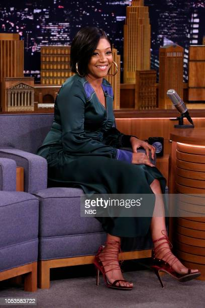 Comedian Tiffany Haddish during an interview on October 26 2018