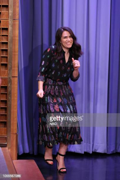 Comedian Abbi Jacobson arrives on October 30 2018
