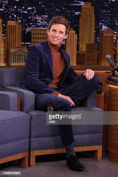 Actor Eddie Redmayne during an interview on November 7 2018