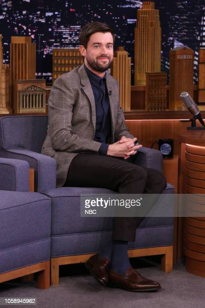 Comedian Jack Whitehall during an interview on November 7 2018