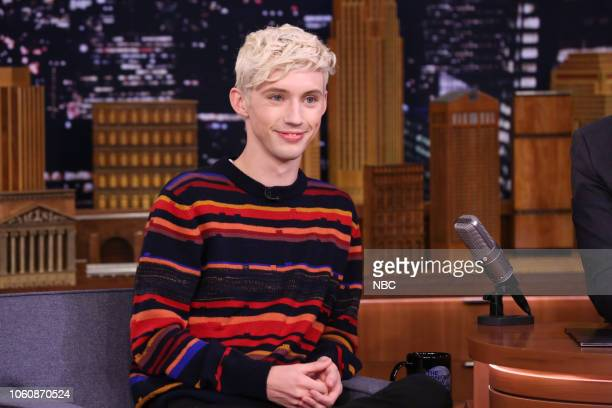 Singer Troye Sivan during an interview on November 12 2018
