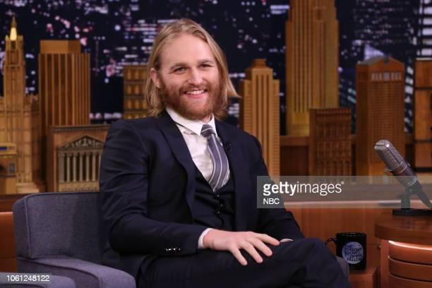 Episode 0960 -- Pictured: Actor Wyatt Russell during an interview on November 13, 2018 --