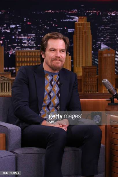 Actor Michael Shannon during an interview on November 14 2018