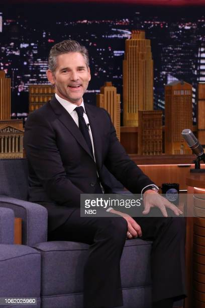 Actor Eric Bana during an interview on November 15 2018