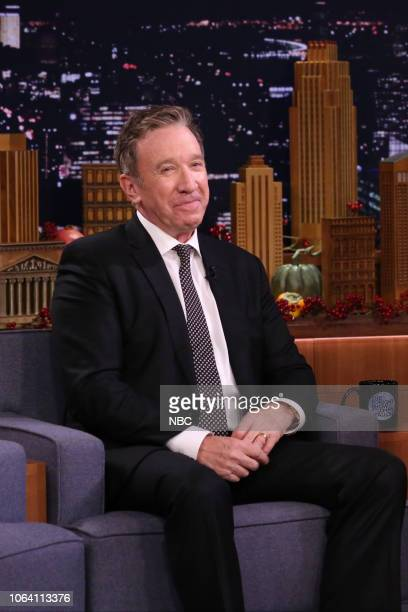 Episode 0966 -- Pictured: Actor Tim Allen during an interview on November 21, 2018 --