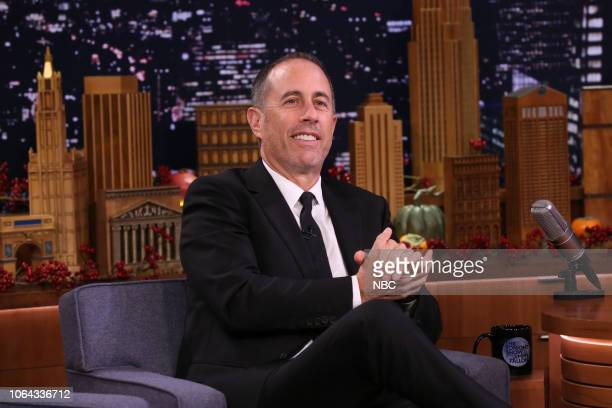 Episode 0967 -- Pictured: Comedian Jerry Seinfeld during an interview on November 22, 2018 --