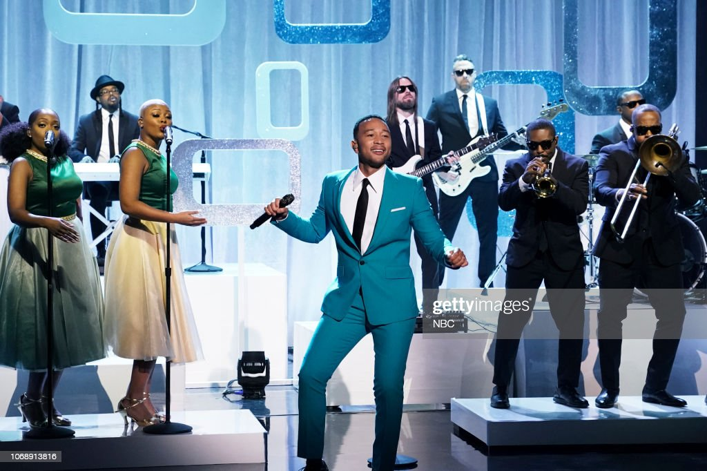 The Tonight Show Starring Jimmy Fallon - Season 6 : News Photo