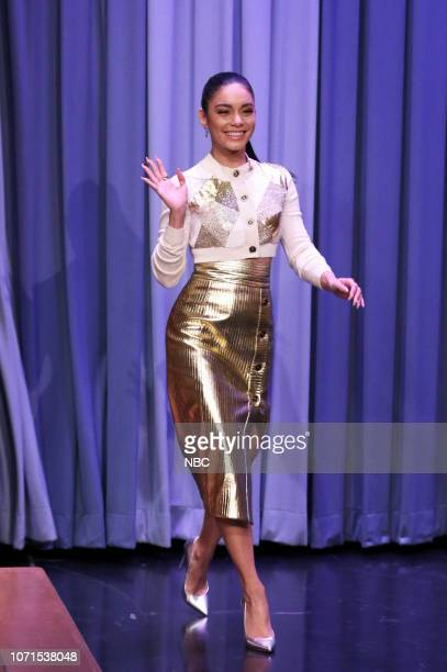 Actress Vanessa Hudgens arrives to the show on December 10 2018