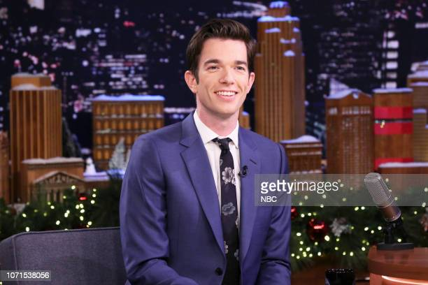 Comedian John Mulaney during an interview on December 10 2018