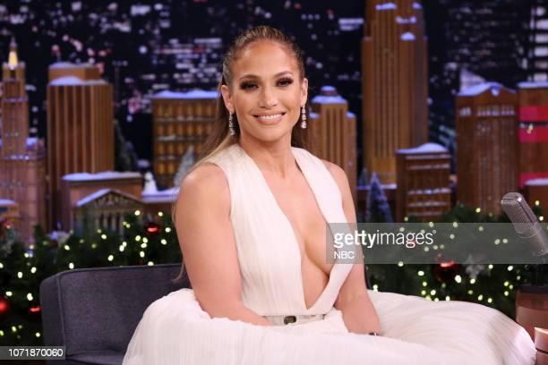 Actress Jennifer Lopez during an interview on December 11 2018