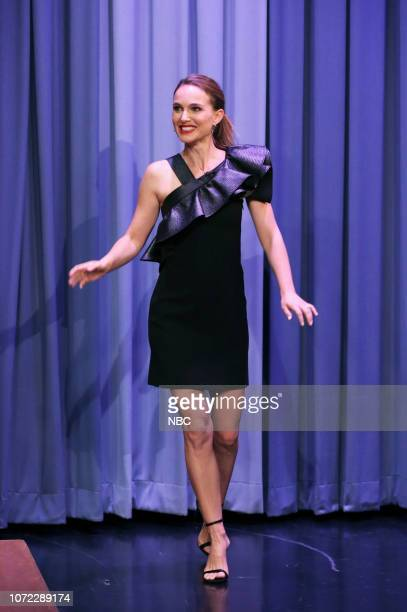 Actress Natalie Portman arrives to the show on December 12 2018
