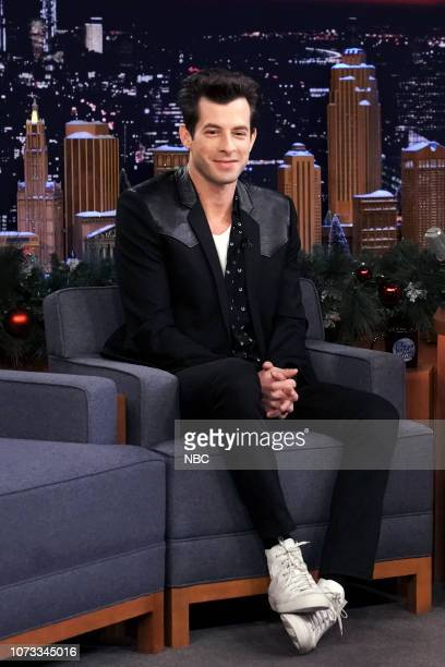 Musician Mark Ronson during an interview on December 14 2018