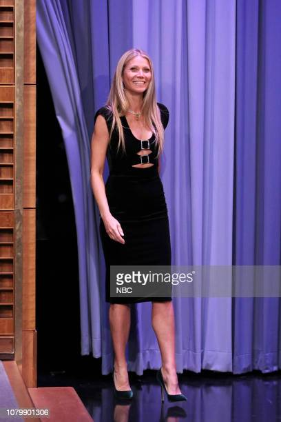 Author Gwyneth Paltrow arrives to the show on January 9 2019