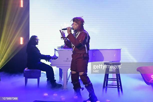 Musical guest Trippie Redd performs on January 9 2019