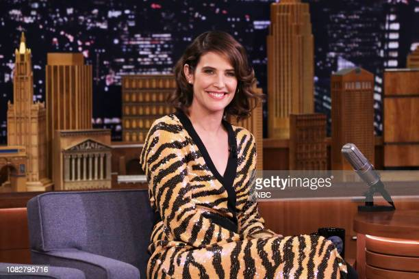 Episode 0992 -- Pictured: Actress Cobie Smulders during an interview on January 11, 2019 --