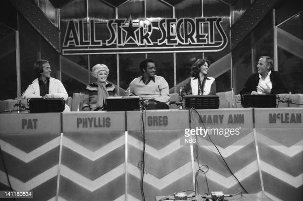 SECRETS Episode 1 Air Date Pictured All Star Panel Singer Pat Boone comedian Phyllis Diller Actor Greg Morris Former Miss America/TV Personality Mary...