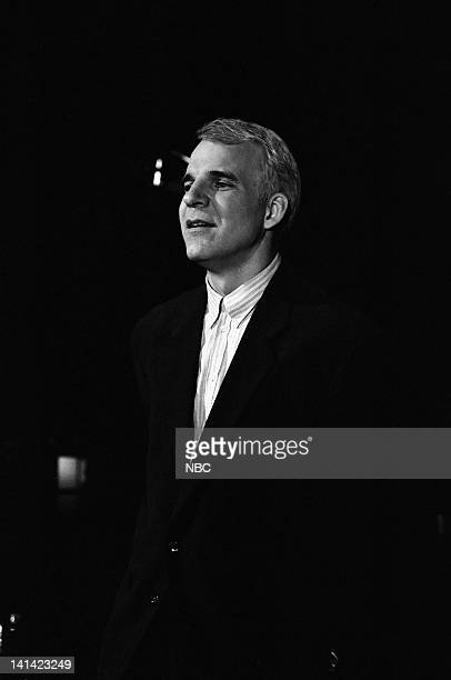LIVE Episode 1 Air Date Pictured Host Steve Martin during his monologue on October 17 1987 Photo by Al Levine/NBCU Photo Bank