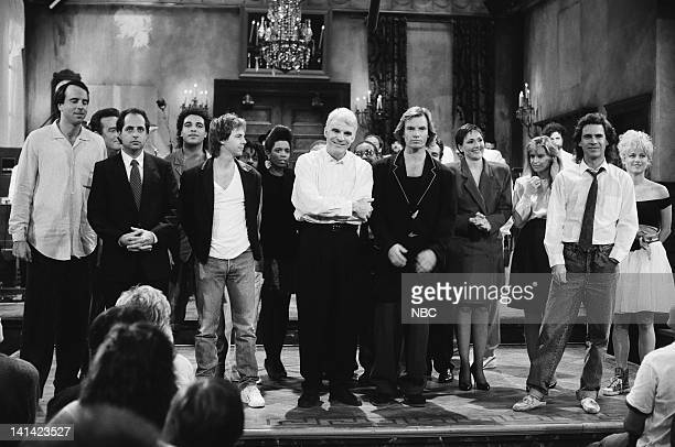 LIVE Episode 1 Air Date Pictured Kevin Nealon Phil Hartman Dana Carvy Steve Martin Sting Nora Dunn Jan Hooks Dennis Miller Victoria Jackson on...