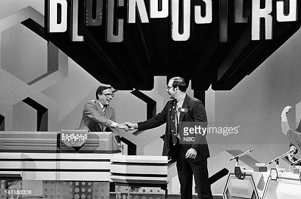 BLOCKBUSTERS Episode 1 Air Date Pictured Host Bill Cullen contestant Tom Photo by Frank Carroll/NBCU Photo Bank
